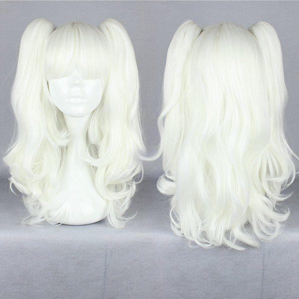 Fashion Medium Full Curly Cosplay Costume Anime Party Hair Wavy Wig Halloween Ebay Cheap Human Hair Wigs Wigs Cosplay Wigs