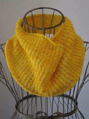 Sunburst Cowl Knitting Patterns Knit Cowl And Patterns