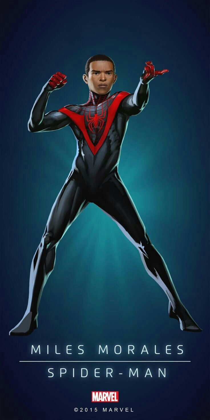 Miles Morales Spider - Man | Avengers personnages