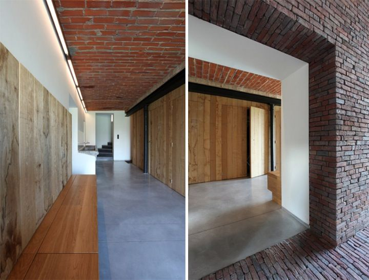 A farm in the sloping Pajottenland landscape becomes a private family home and veterinary practise