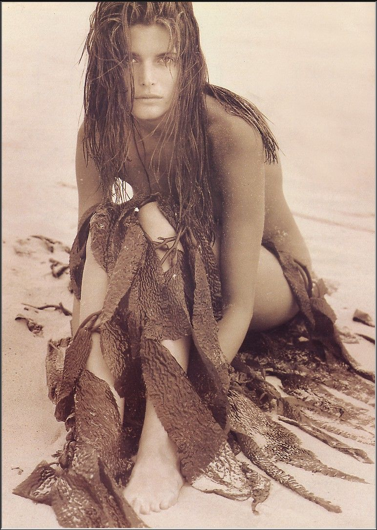 Stephanie seymour herb ritts naomi campbell