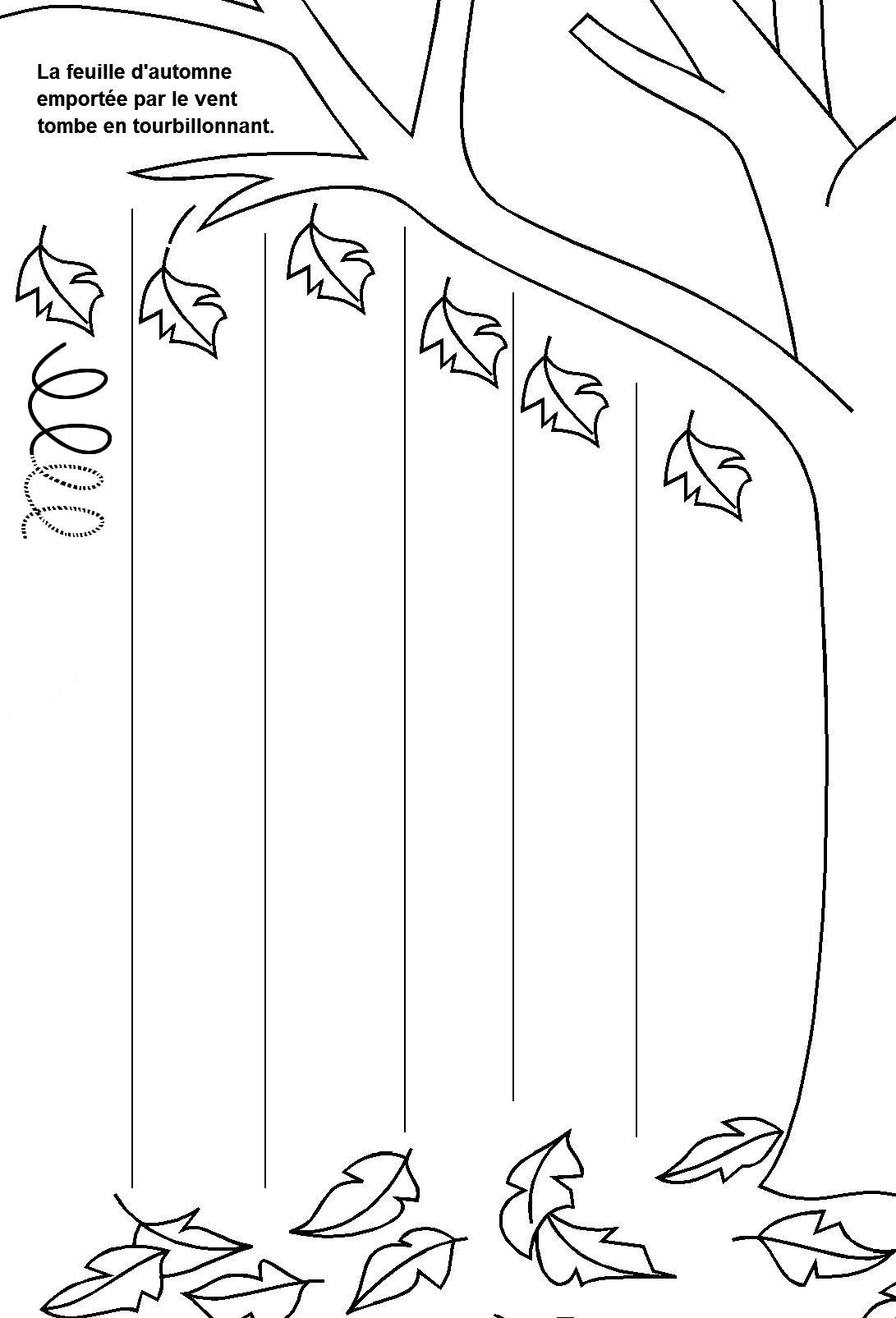 Activite Automne Maternelle Design De Maison Ressources Pdagogiques La Boucle En Maternelle Au Fall Worksheets Tracing Worksheets Preschool Worksheets For Kids [ 1605 x 1091 Pixel ]