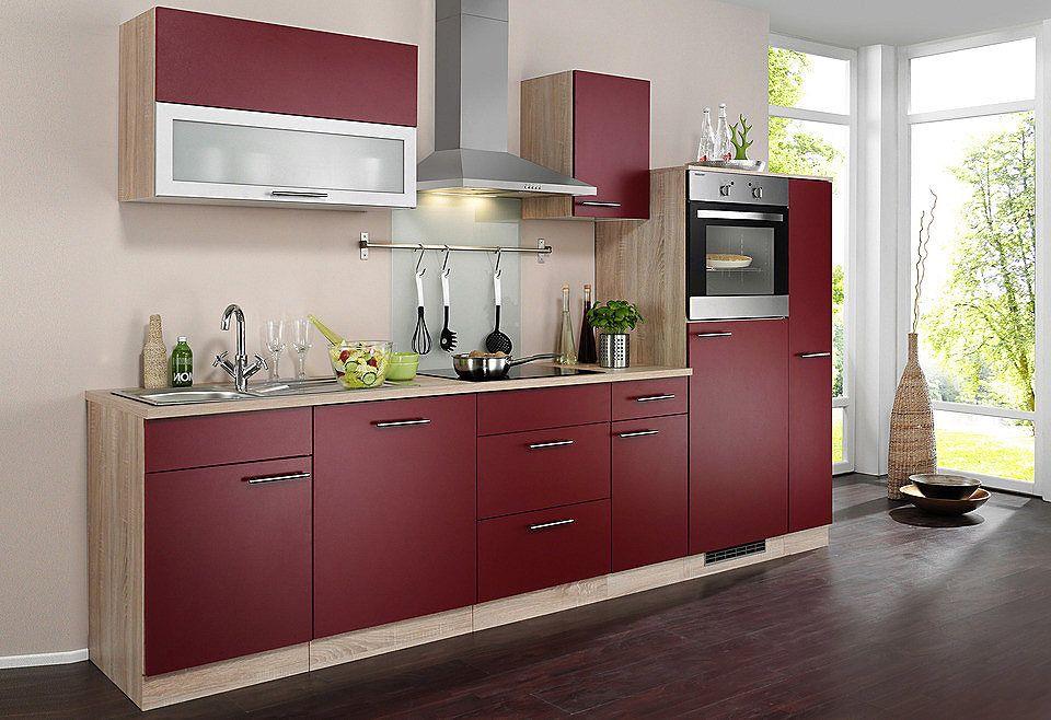 Küchenzeile Mit Geräten Und Aufbau