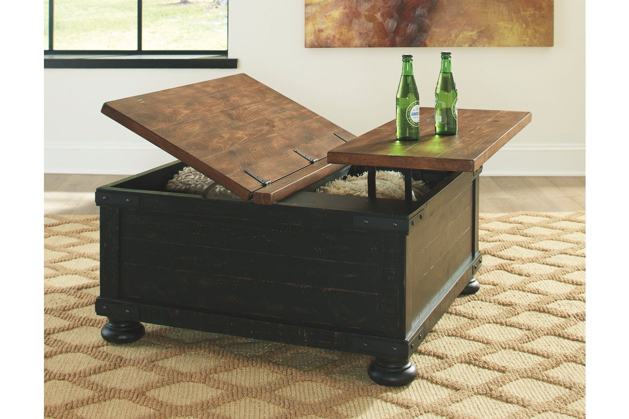 Valebeck Coffee Table With Lift Top Coffee Table Coffee Table