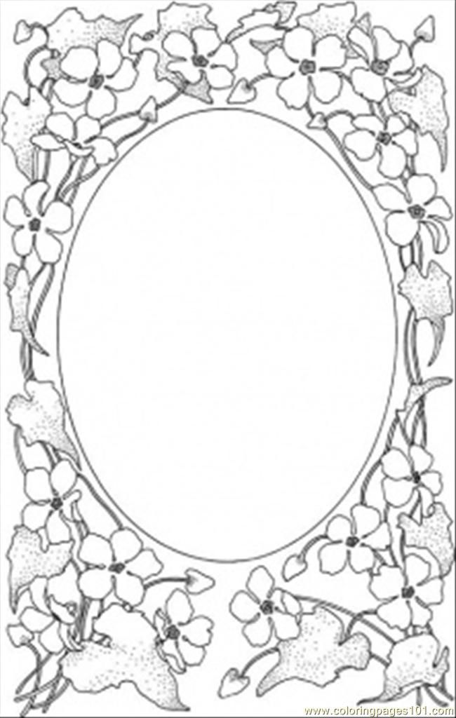 Frame, Large | Embroidery patterns | Coloring pages ...