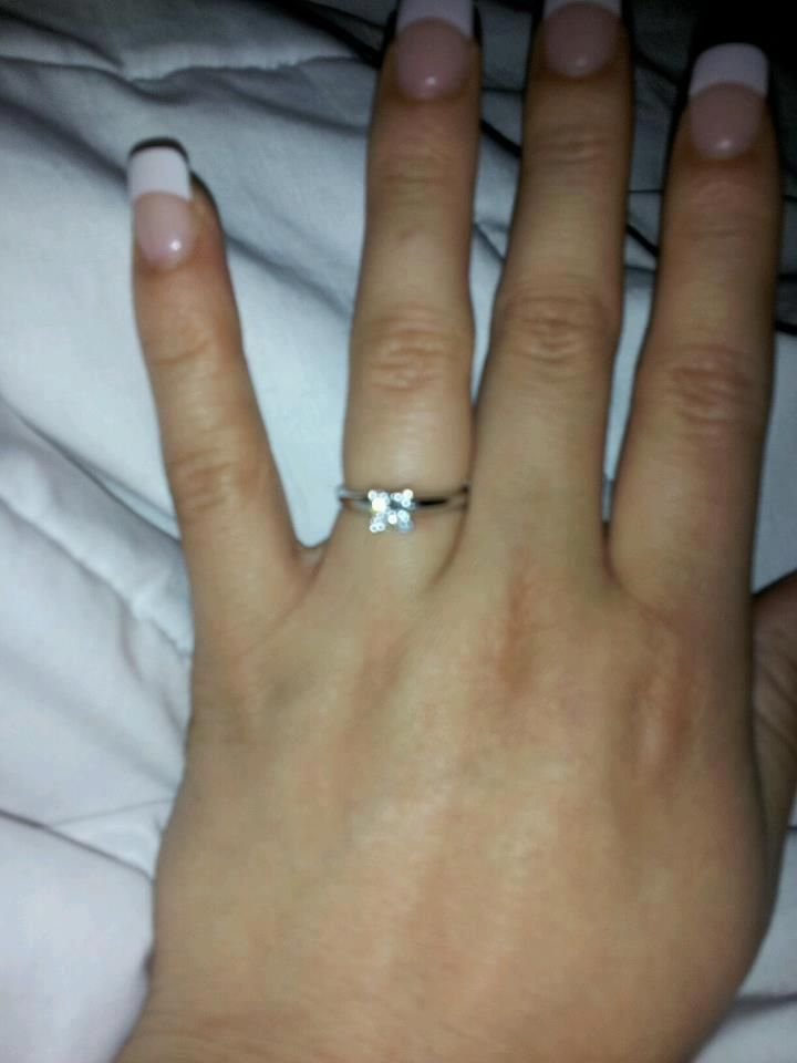 Images Of Engagement Rings On A Finger Back To Post History Ring
