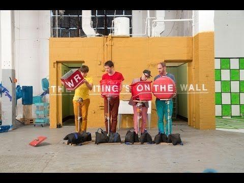 Ok Go The Writing S On The Wall Lyrics Ok Go The Writing S On The Wall Official Video Ok Go Music Videos Creative Video