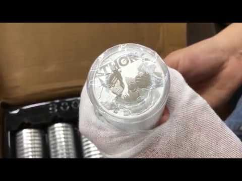 Thor Unboxing 2018 1 Oz Tuvalu Thor Marvel Series Silver Coin Silver Coins Marvel Series Marvel Thor