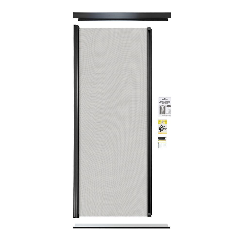 Retractable Screen Single Entrance Door Black Retractable Screen Door Retractable Screen Screen Door Latch