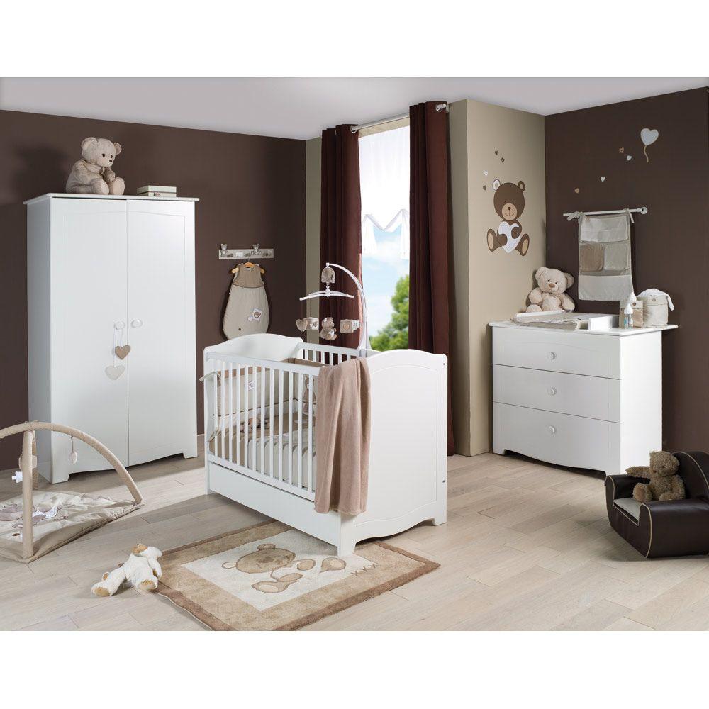 CHAMBRE ORPHÉE de Sauthon Sélection | La chambre de bébé | Chambre ...