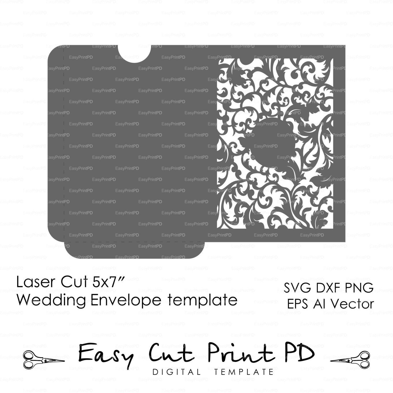 5x7 envelopes template