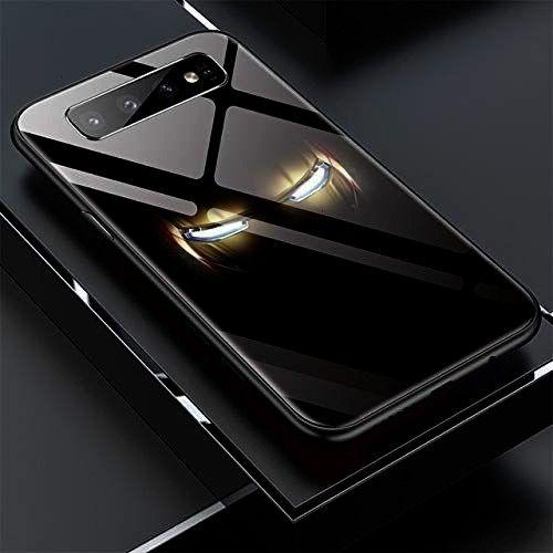 America Iron Man Glass Phone Case for Samsung Galaxy S8 S9 S10 e 5G Plus Note 9 8 Avengers Batman C