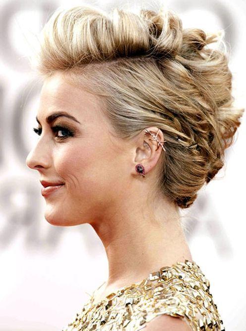 Sehr Kurze Haare Hochsteckfrisuren #Haare #Hochsteckfrisuren
