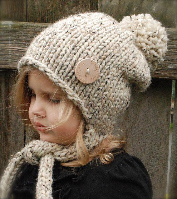 Картинки по запросу детская шапочка спицами | вязанные головные ...