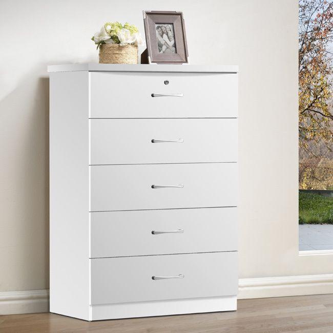 Semplice 5-drawer Chest (