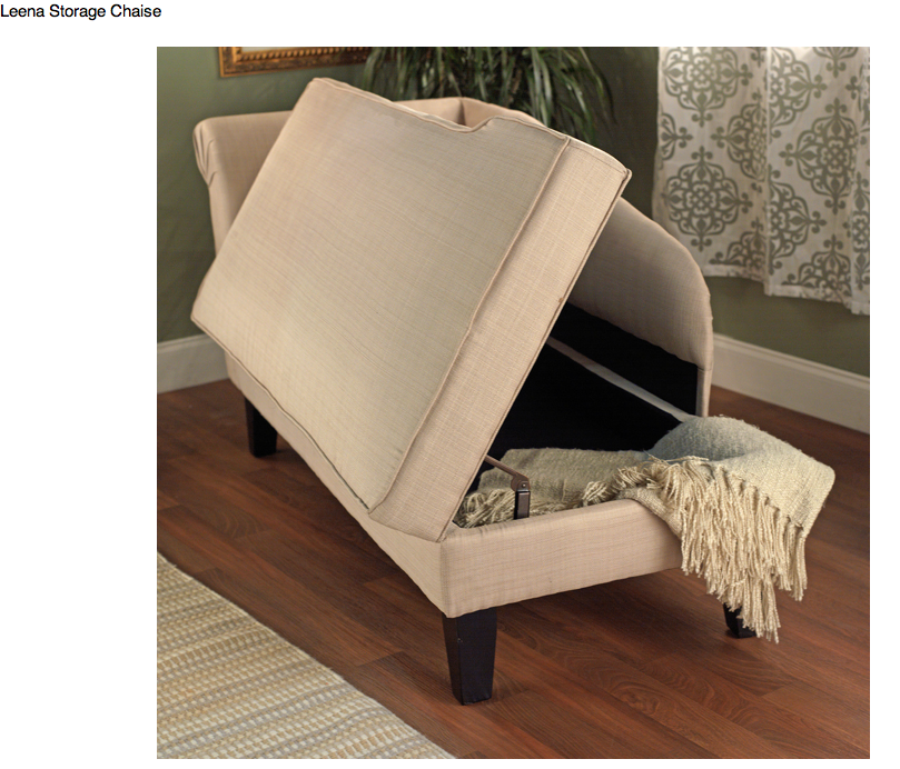 Chaise storage bench  sc 1 st  Pinterest : chaise lounge storage bench - Sectionals, Sofas & Couches