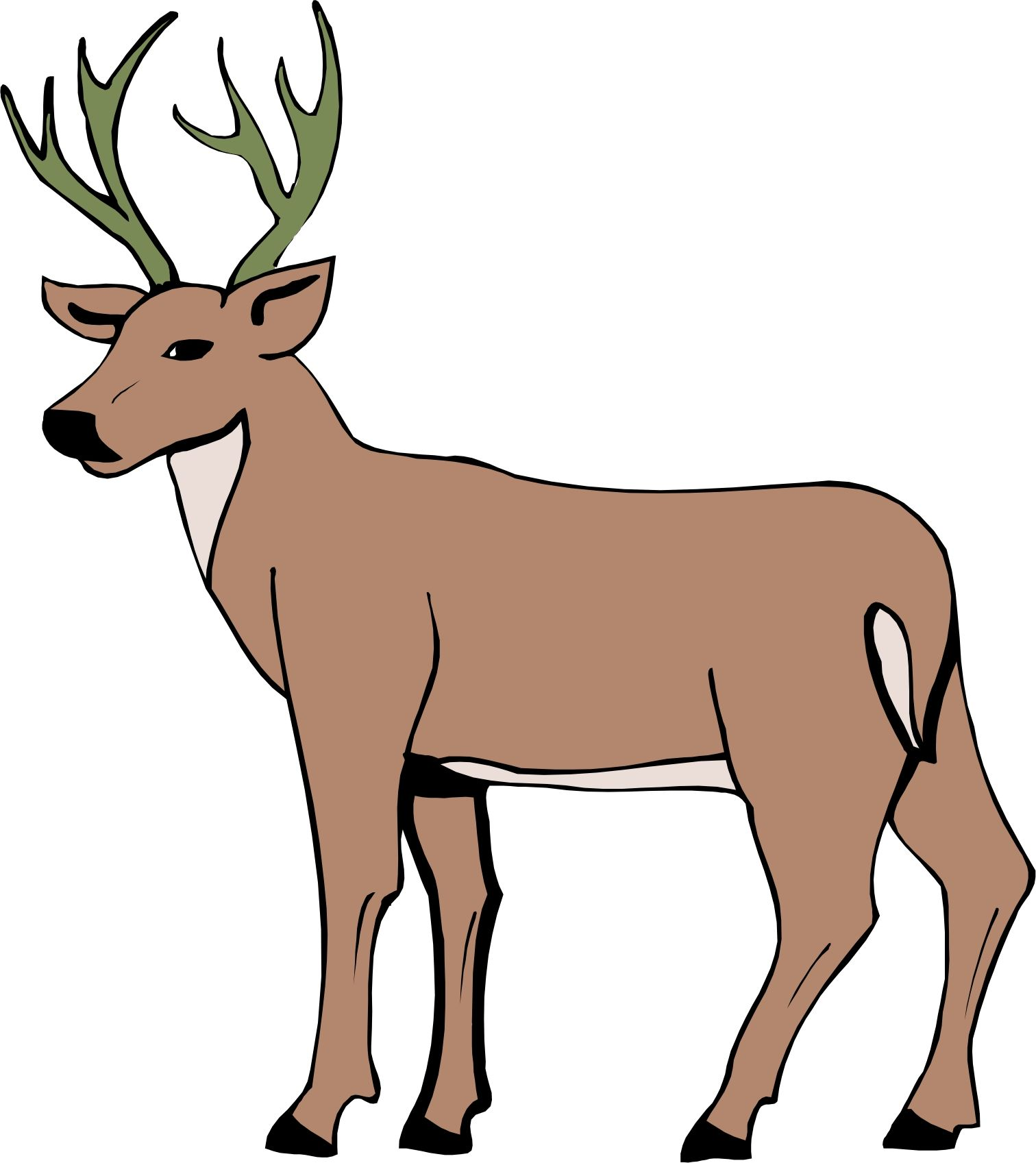 cartoon deer cartoon deer page 2 cartoon drawing