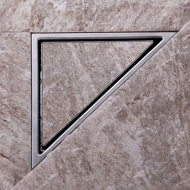 Triangle Wall Corner Stainless Steel Floor Shower Drain