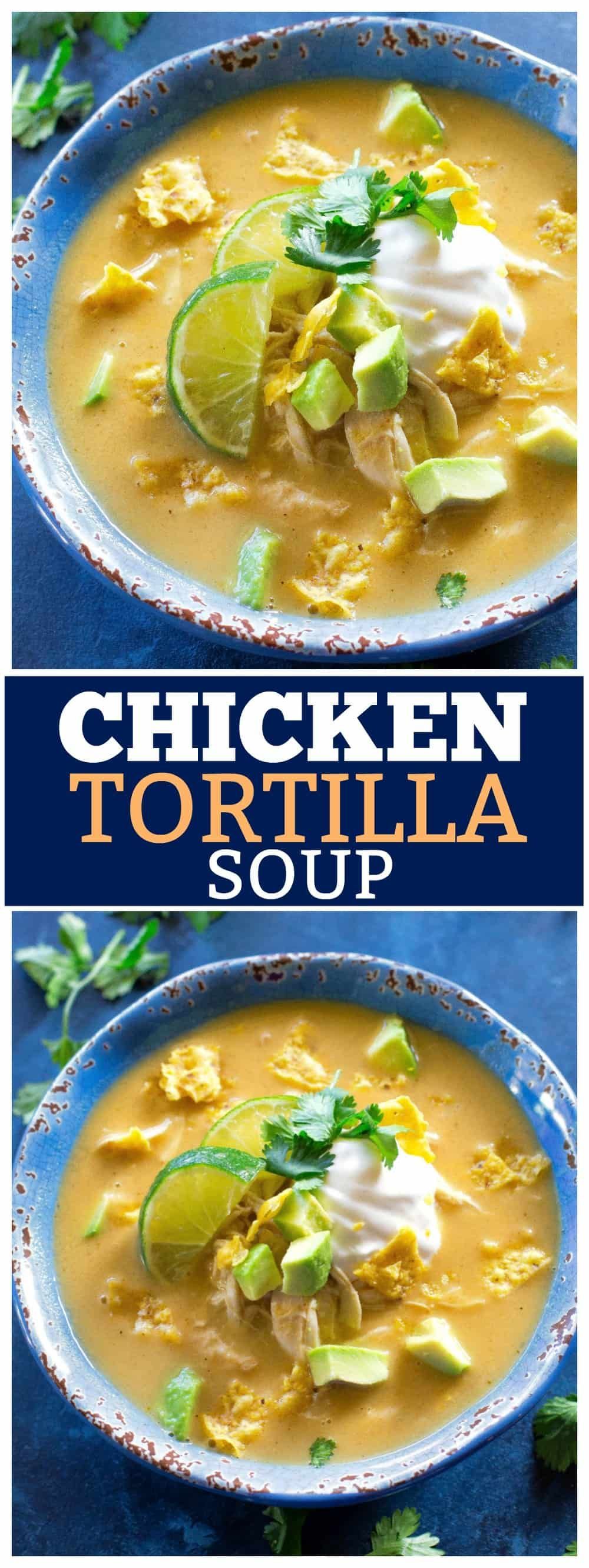 The Best Chicken Tortilla Soup Recipe - The Girl Who Ate Everything