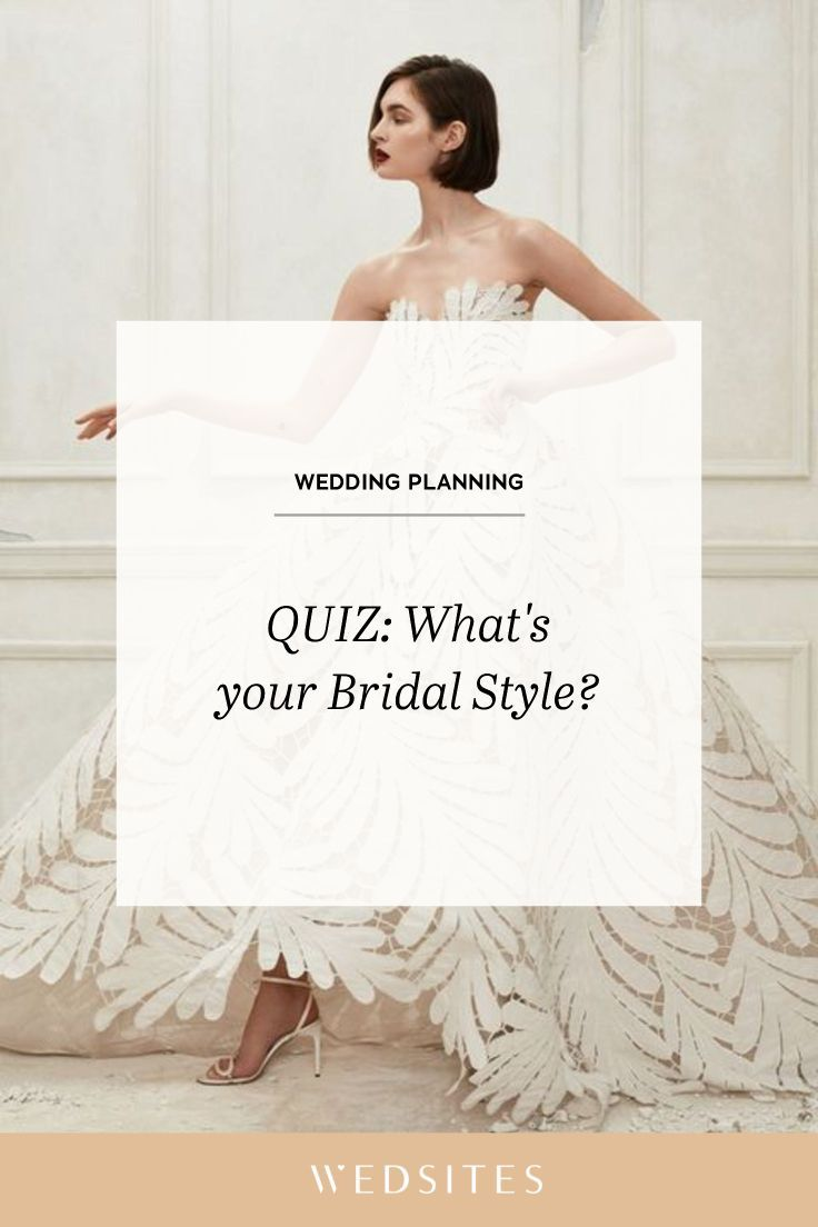 What's your Bridal Style? ♥ Take The Quiz and Find Out Now! | Bridal style, Wedding planning ...