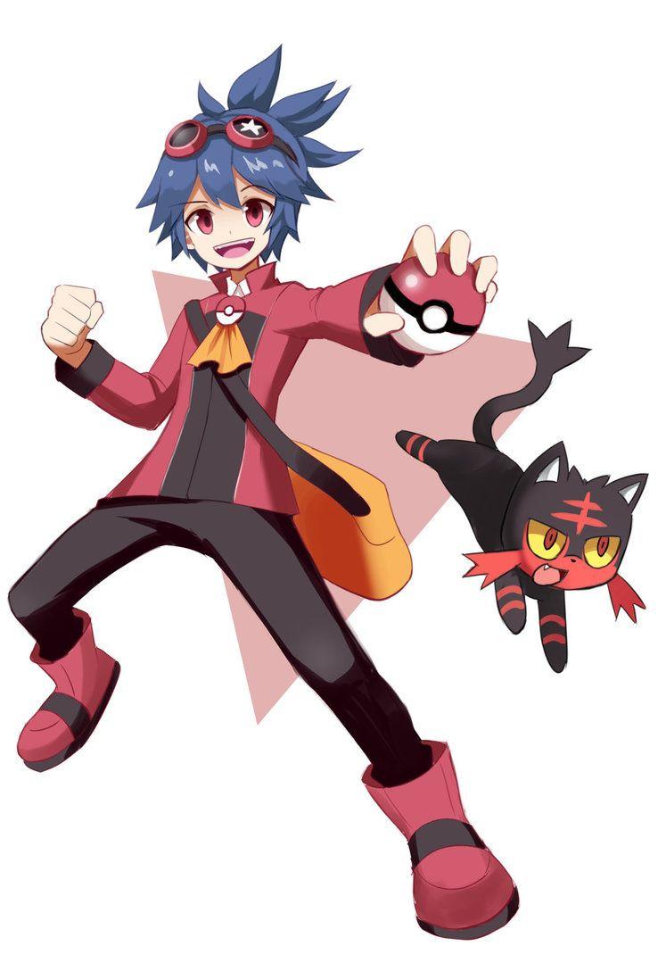 pokemon trainer katsumi oc by penciltales deviantart com on