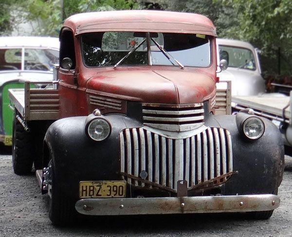 Red Rat Rod Truck 1946 Chevy Truck Rat Rods Truck Chevy Trucks