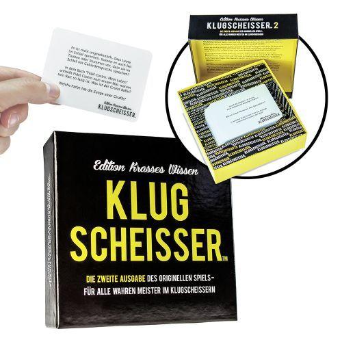 Klugscheisser Spiel Edition Krasses Wissen Klugscheisser Spiel Lustige Partyspiele Und Spiele