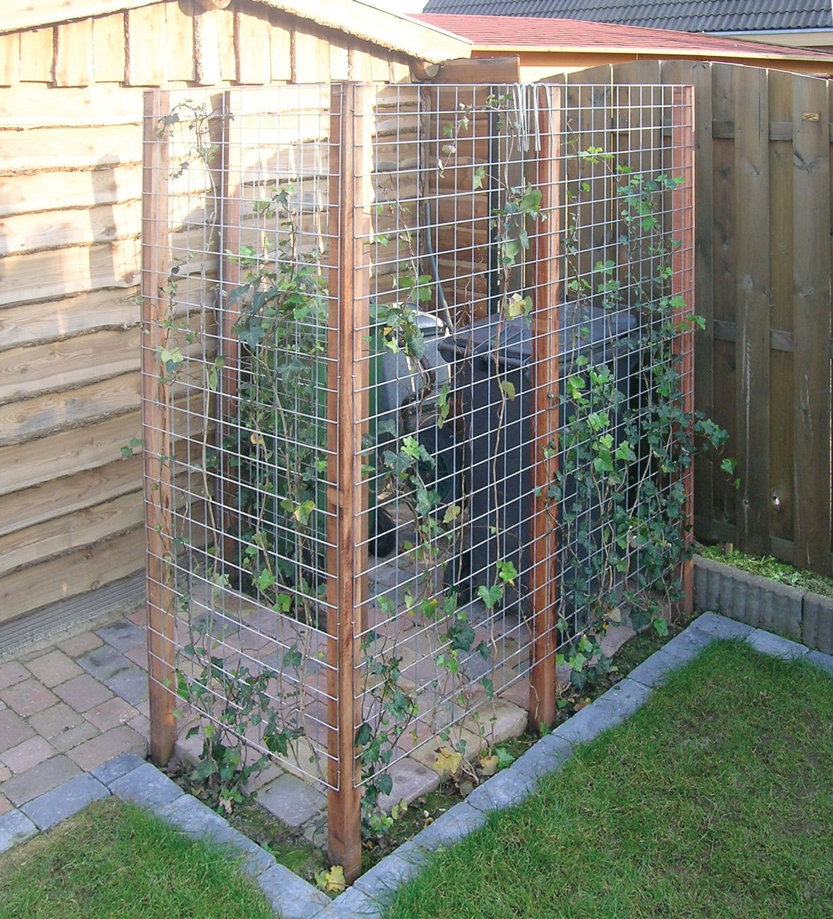 Mülltonnenverkleidung Paletten Garden Screens Google Search Garden Pinterest