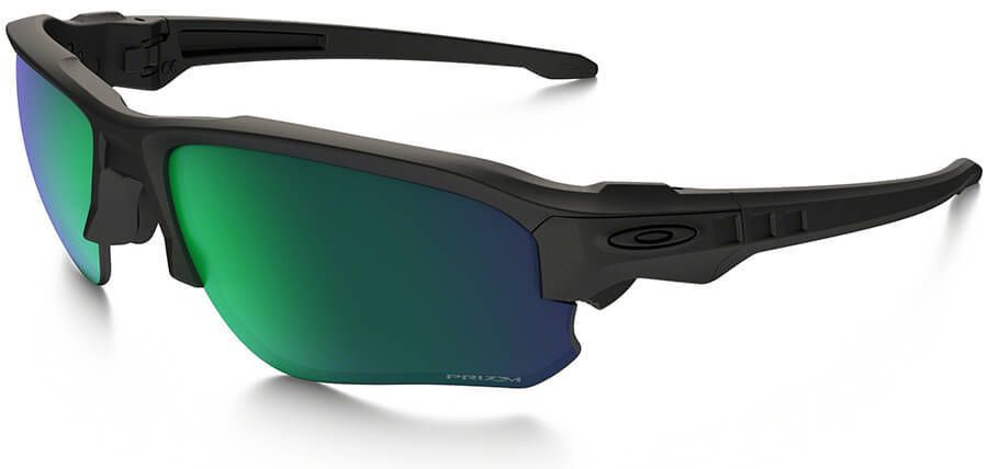62319c8efa4 Oakley SI Speed Jacket Safety Sunglasses with Matte Black Frame and Prizm  Maritime Polarized Lens