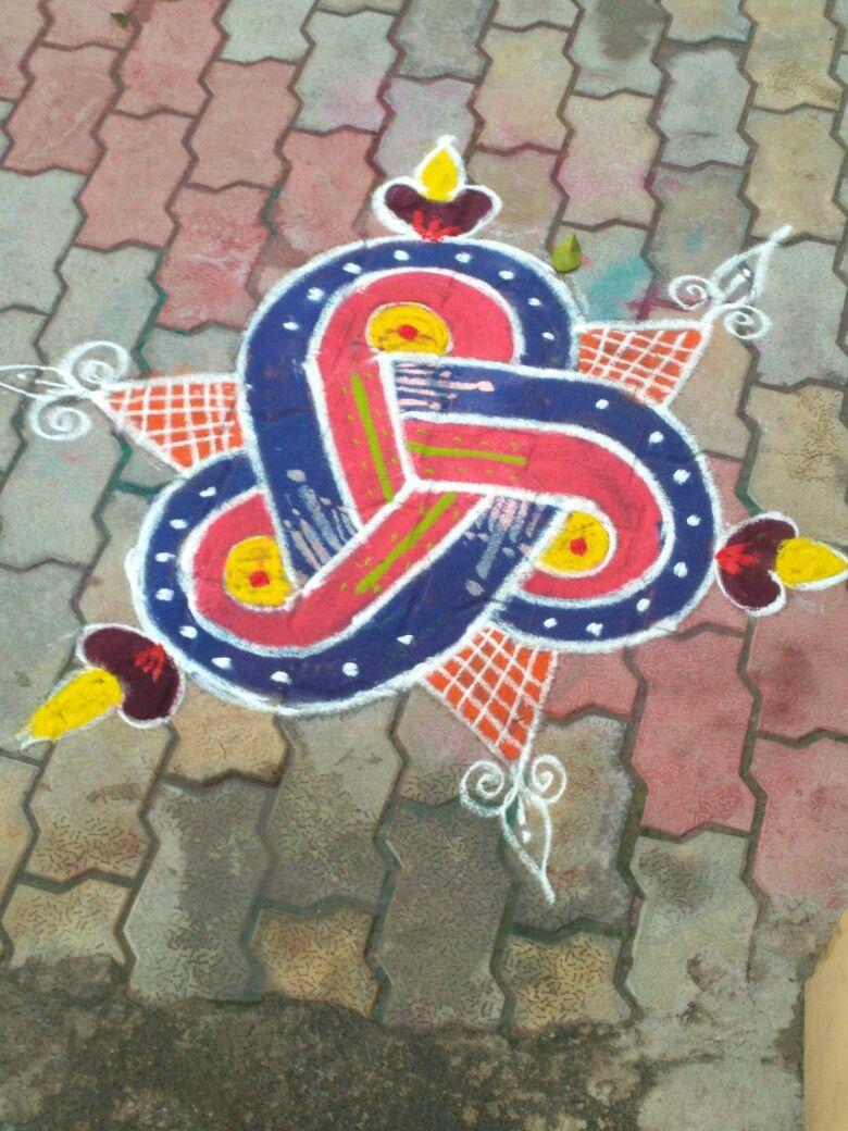 Pin by Balaji on Small rangoli design in 2020 Small