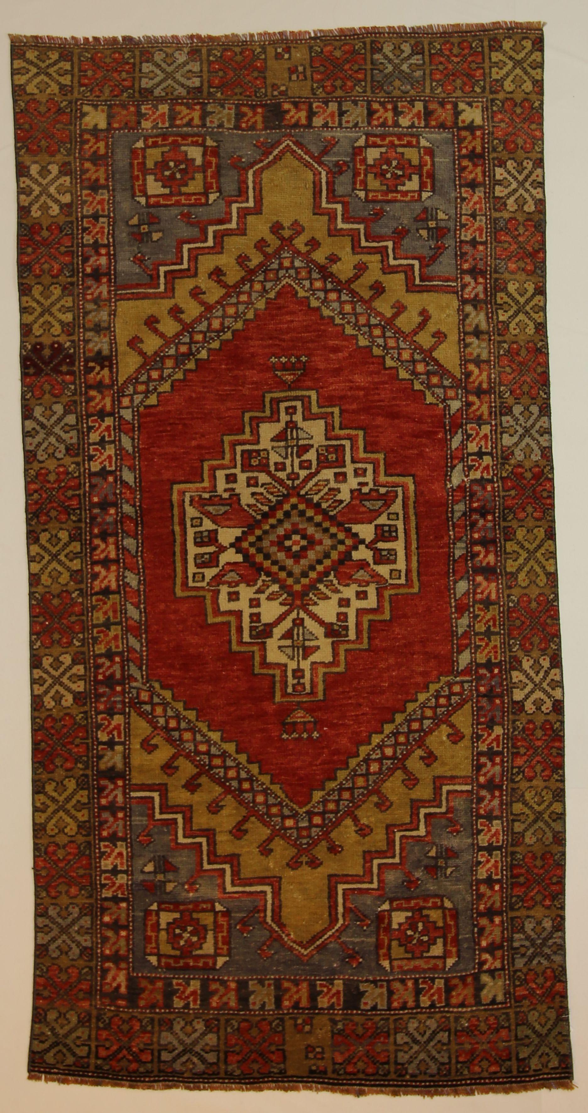 Hand-woven Turkish  2.11 x 5.8