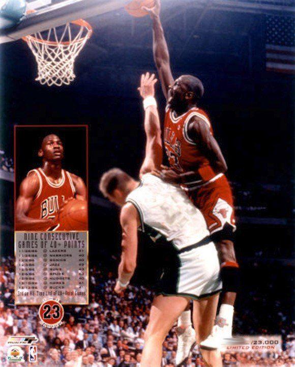 39b72c151f65 Michael Jordan 9 Consecutive Games of 40+ Points