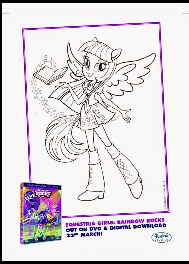 Explore Colouring Pages Coloring And More My Mummys Pennies MLP Equestria Girls Rainbow Rocks