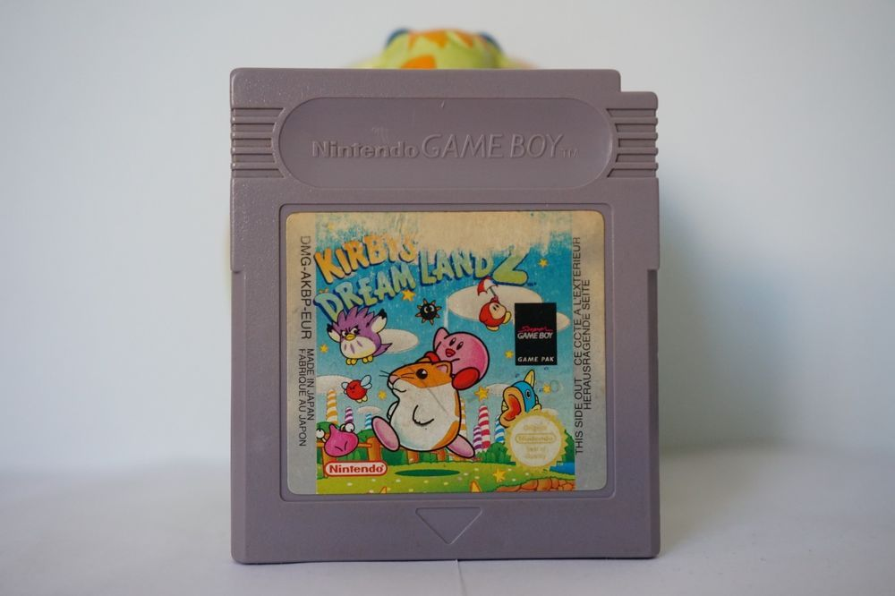 Kirby S Dream Land 2 Nintendo Game Boy Kirbys Gameboy Usa Version Original Kirbysdreamland2 Gameboy Retro Gaming Kirby