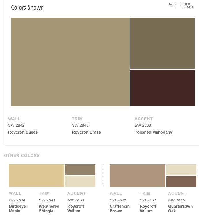 Sherwin Williams Color Combinations