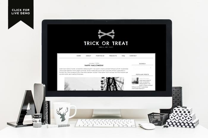 Free Monthly Blogger Template | October - Designer Blogs ...