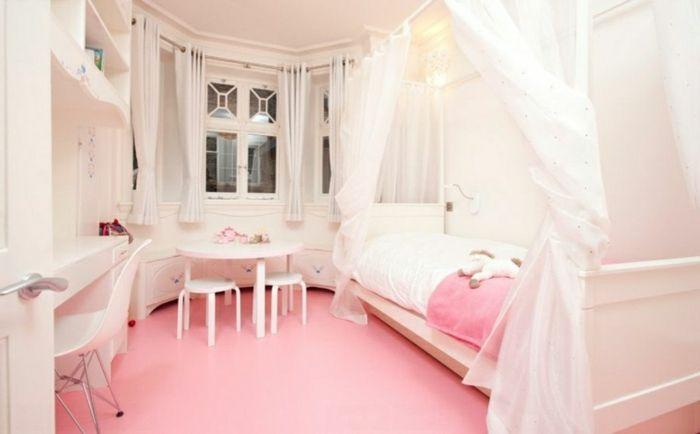 Schlafzimmer Altrosa ~ Barbie haus schlafzimmer rosa boden chambre d enfant
