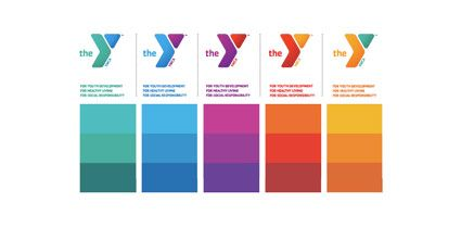 the ymca of the usa's new logo design  ymca how to