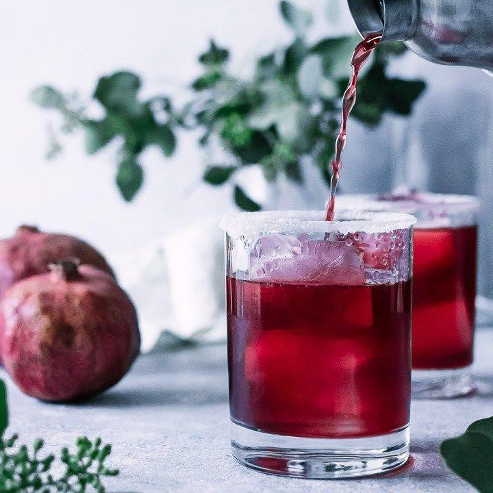 Perfect Pomegranate Margaritas