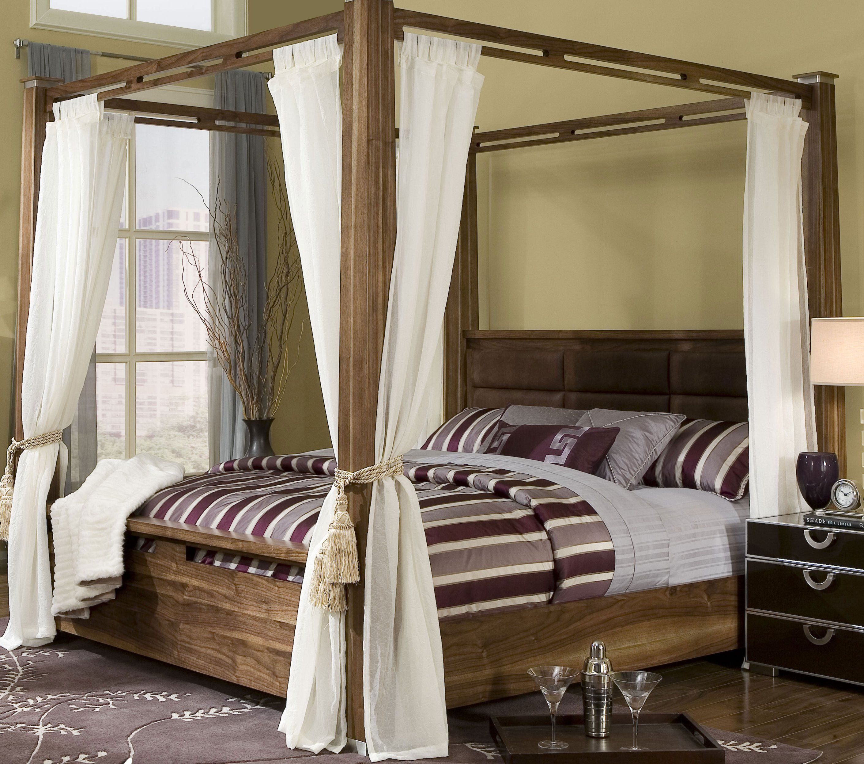 Comfortable Bed With Canopy Bed Design Canopy Bed Curtains
