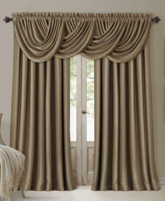 All Seasons Blackout Waterfall 52 X 36 Valance Curtains Drapes Curtains Curtains Panel Curtains