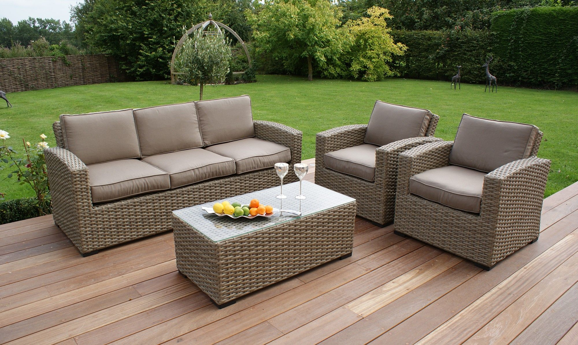 Style your Home with Rattan sofa set Outdoor wicker