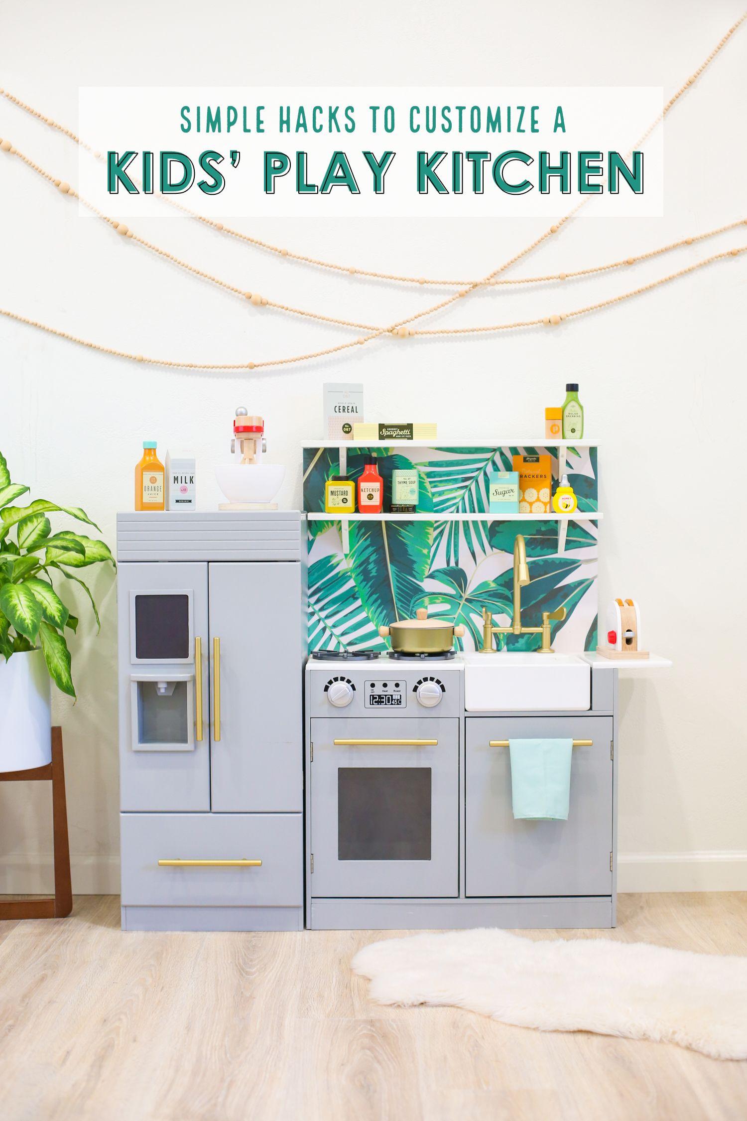 Diy kidsu play kitchen hacks and our favorite play kitchen