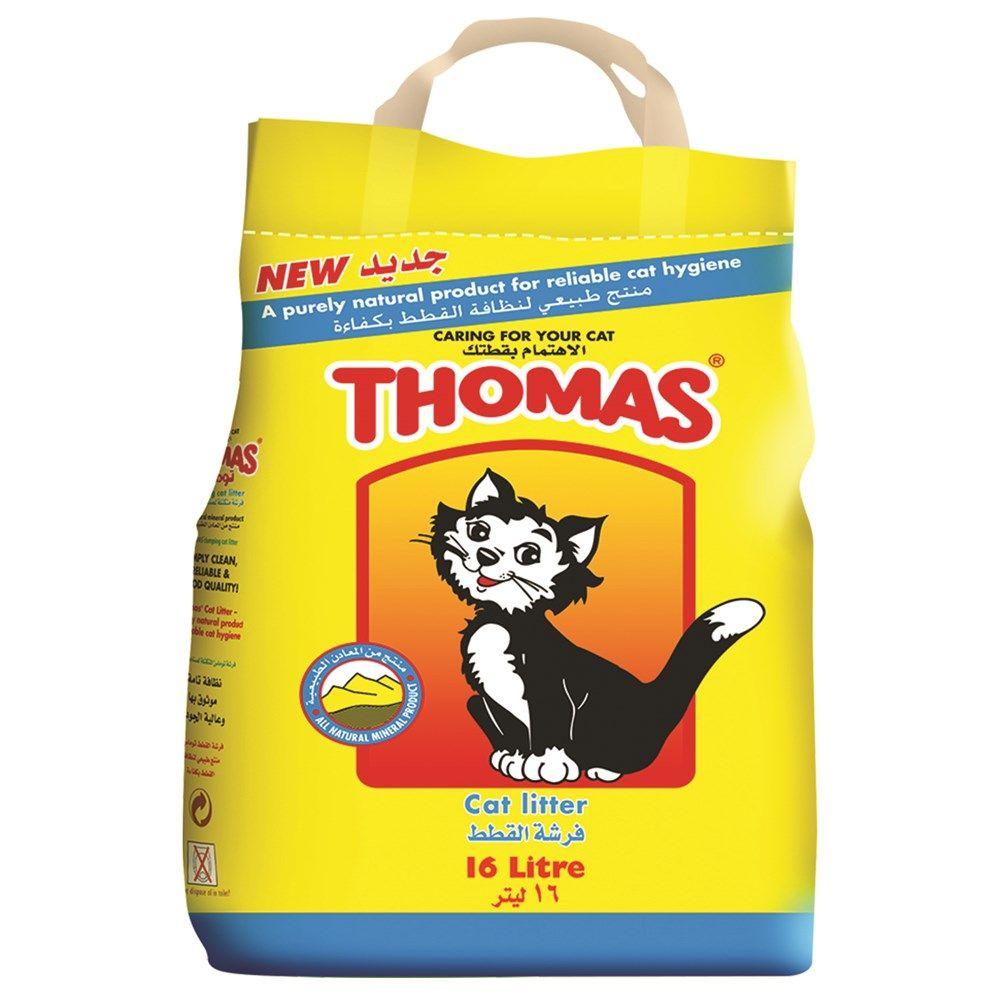 Pet Foods Thomas Cat Litter 16 Litre Food Animals Thomas Cat Cat Litter