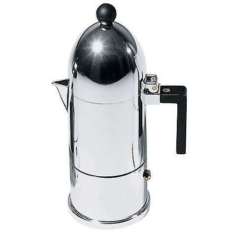 Alessi La Cupola Espresso Coffee Maker 3 Cup
