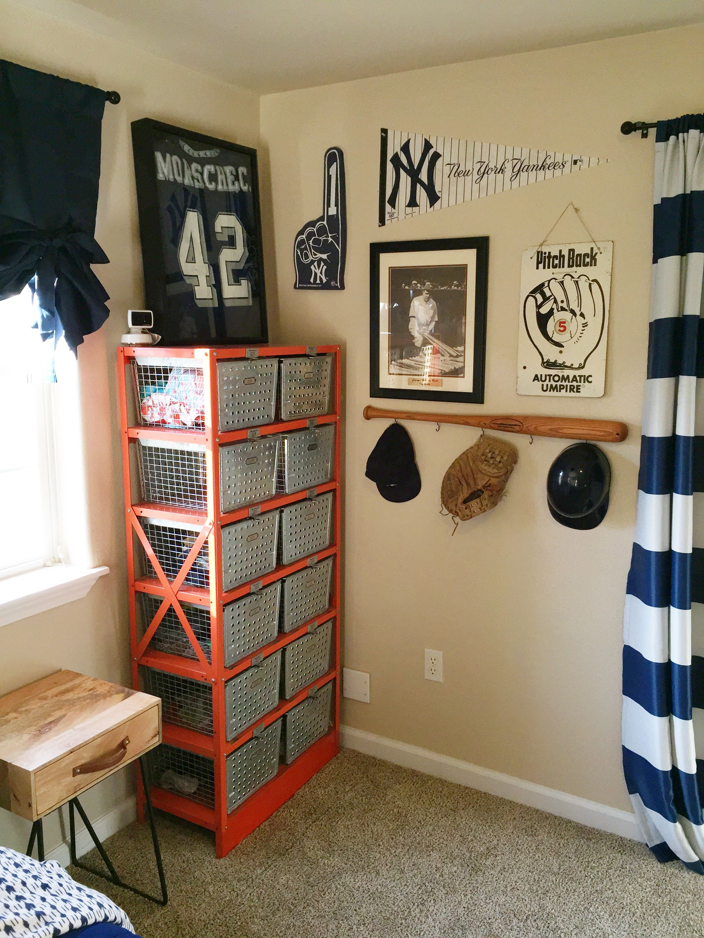 Vintage Sports Themed Bedroom Lady S Little Loves