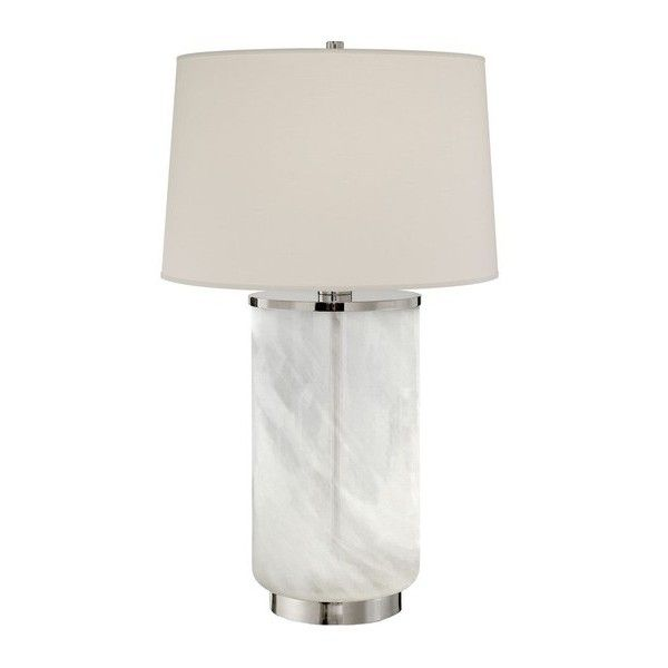 Ralph Lauren Home Linden White Glass Table Lamp ($1,500) ❤ liked on ...