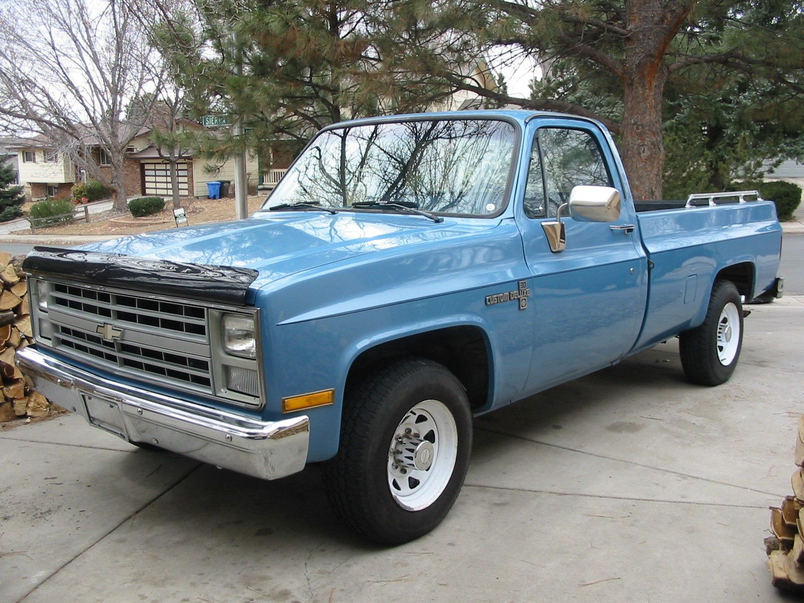 1985 Chevrolet Pickup Rare 85 Chevy C20 HD Camper Special ...