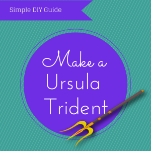 Diy ursula trident httpseasonalcrazediy ursula costume heres our do it yourself diy ursula costume guide with everything youll need to look like your favorite disney villain including costume wig and makeup solutioingenieria Image collections