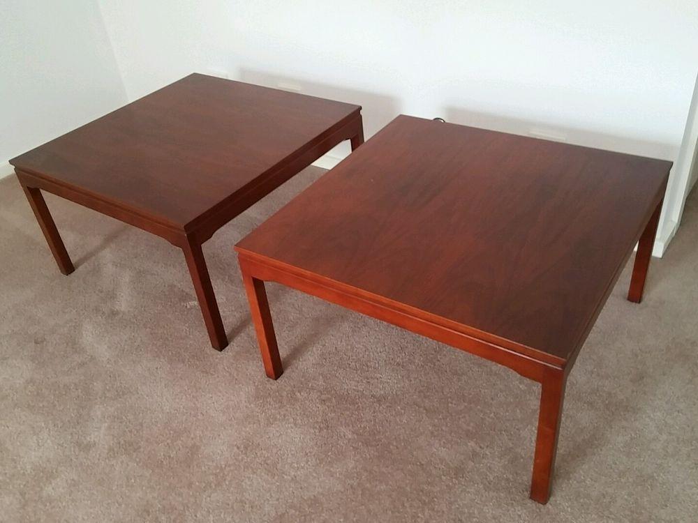Genuine Square Parker Coffee Table Teak Vintage Full Timber Danish Fler Era Coffee Table Table Teak